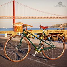 How was your #CarFreeDay ? Gorgeous view from Lisbon :) by happybicycle.pt