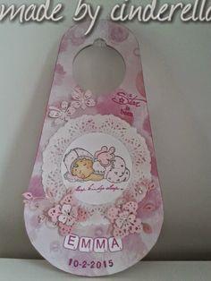 Deurhanger voor babykamer