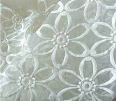 water soluble Lace Fabric