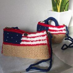 【再販3】USA星条旗2wayクラッチバッグ ショルダー ポシェット