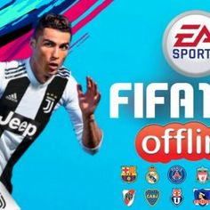 Offline FIFA19 Mod FIFA14 Android Download Blue Game, Best Graphics, Fifa, Android, Baseball Cards, Sports, Real Madrid Players, Legends, Hs Sports