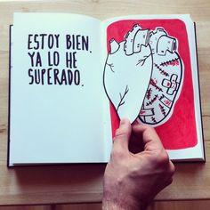 El (des)amor ilustrado por Alfonso Casas - Esto no es arte