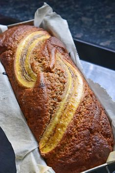 Cake Rapide, Banana Bread, Food And Drink, Breads, Desserts, Kiss, American, Diy Kitchen, Overripe Bananas