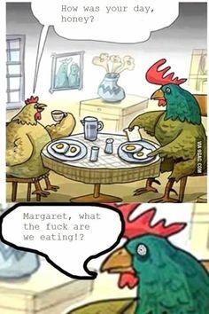 Damn you, Margaret...