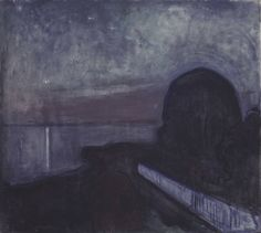 Edvard Munch, Starry Night 1893