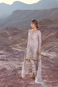 For winter get-togethers party occasions Shariq Textile is launching Mina Hasan Embroidered Fabrics Collection very