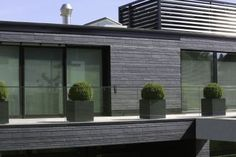 Extravagante Schieferfassade schützt in exponierter Hanglage (Bild 9)