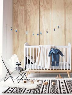 Lit bébé Confetti à barreaux - Vertbaudet