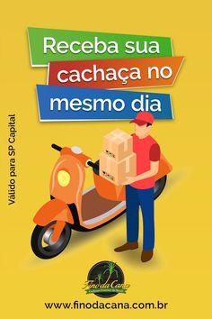 Se você vive em São Paulo Capital, o Fino da Cana disponibiliza um serviço de entregas no mesmo dia para as compras realizadas entre os horários das 9:00 até as 18:00. Compre a sua cachaça e recebe no mesmo dia Gin, Family Guy, Father's Day, Gifts, Tips, Shopping, Liqueurs, Jeans