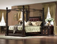 Le Palais Queen Poster Bed by Orleans International - Home Gallery Stores