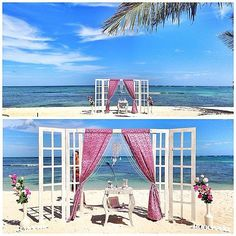 The Best Beach Weddings on Instagram;Pick a colour theme and stick to it! Whether it's dusky pinks, pastels, or something else entirely.