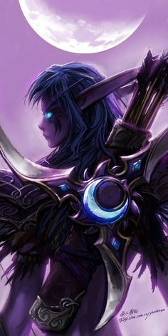 Night elf. | Fantasy