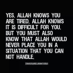 Put trust on Allah