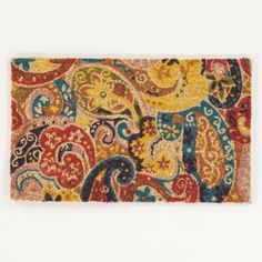 Calcutta Paisley Doormat | World Market