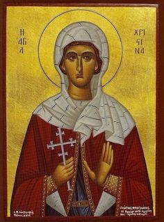 Christina the Martyr Saint Christine, Kneeling In Prayer, Santa Cristina, Strong Faith, Praying To God, Catholic Saints, Orthodox Icons, Christian Faith, Christianity