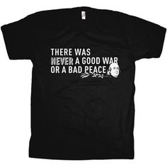 Good War Tee Men's Black now featured on Fab.