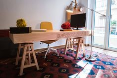 Art Deco House, Working Space, Architect's Table, Dimitra Marini, Architects
