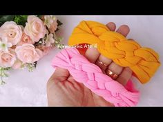 Twist Headband, Turban Headbands, Diy Headband, Turbans, How To Make Scrunchies, How To Make Headbands, Diy Braids, Diy Arts And Crafts, Diy Accessories