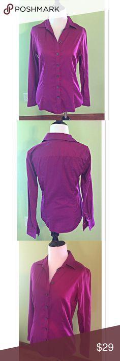 Selling this Banana Republic Pink Non Iron Fitted Button Down on Poshmark! My username is: davias_closet. #shopmycloset #poshmark #fashion #shopping #style #forsale #Banana Republic #Tops