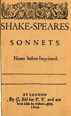 Sonnets - Shakespeare