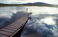 Pond Wooden Pier-photo by Grant Collier