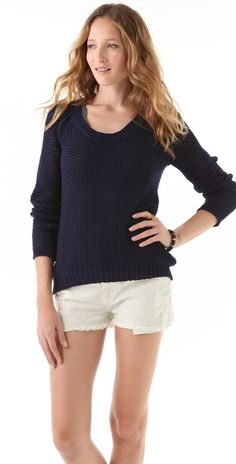 Feel The Piece Linen Blend Sweater