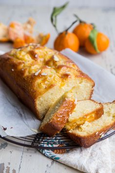 Make the most of the winter citrus season with this super soft and delicious clementine almond yogurt cake. It is bright and lively, while being warm and comforting with a mix of orange zest and almond extract. A great cake for winter, or even summer!