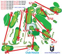 Il percorso di gara di #Footgolf a 9 buche dell'Acquapendente Golf Club in…