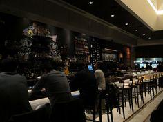 The bar at Tanta in Chicago