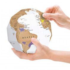 Luckies Scratch Globe | design3000.com