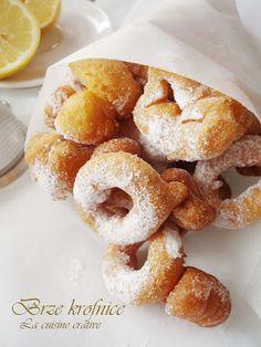 Brze krofnice/Donuts