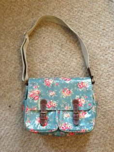Cath Kidston Bag;  bought this in Northern Ireland.  Love it.