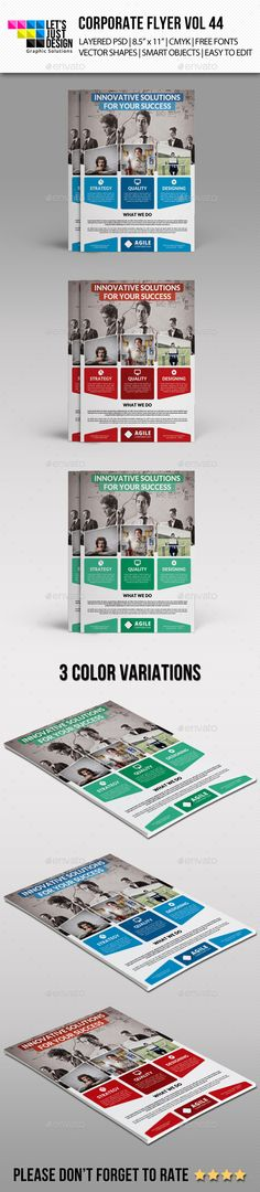 Abstract Business Flyer Cover Template Vector   Adverts