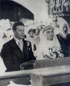 1934 : Mariage de l'Infante Maria Antonia de Portugal (1903-1973) et de Sydney Ashley Chanler (1907-1994). Divorcés en 1948