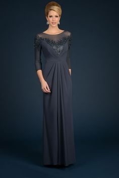 Mother of the Bride Formal Gown 5082NX-TEAL-M NariaNNa-http://www ...