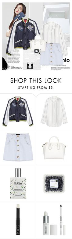 """""""Kim Jisoo"""" by e-laysian ❤ liked on Polyvore featuring Hilfiger Collection, Equipment, philosophy, NARS Cosmetics, Lord & Berry and Yves Saint Laurent"""