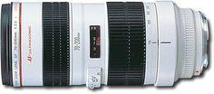 Canon - EF 70-200mm f/2.8L USM Telephoto Zoom Lens - White