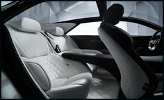 Infiniti Q80 Inspiration Interior Back Seats Wallpaper