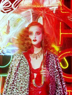 Miles Aldridge | Madison Stubbington, Vogue Italy | Karen Langley, Kerry Warm, Isamaya Ffrench, Shreen Gayle