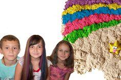Kinetic Sand! Развивающие Игры С Кинетическим Песком. Лепим Башни