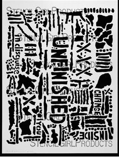 Unfinished Stencil