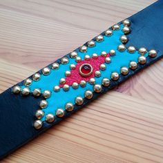 Studded Belt: Chimayo inspired design