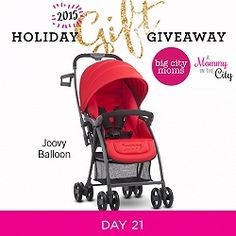 Holiday Gift Giveaway: Day 21 Joovy Balloon