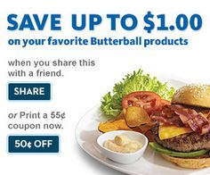 I got a great deal from Butterball! Take the quiz, proclaim your Turketarianism and you can get awesome coupons, too.