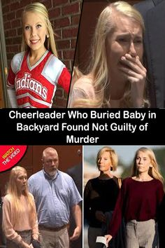 Cheerleader Who Buried Baby in Backyard Found Not Guilty of Murder Pinterest For Men, Pinterest Fails, Wedding Pinterest, Pinterest For Business, 9th October, Baby Dress Design, Anxiety Causes, Mystery Parties, Embarrassing Moments
