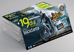 """Mock up Flyer """"Día Internacional de la Bici"""""""