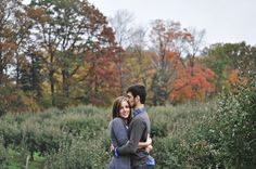 hilary knegt photography | Apple Orchard Engagement | Marc  Victoria | {HKP}
