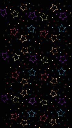 By Artist Unknown. Pretty Phone Wallpaper, Flower Phone Wallpaper, Rainbow Wallpaper, Wallpaper Iphone Disney, Pastel Wallpaper, Cellphone Wallpaper, Black Wallpaper, Apple Logo Wallpaper, Star Wallpaper