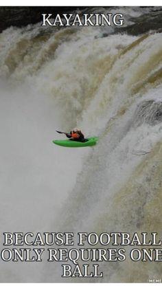 Kayaking... #Humor