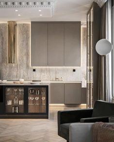 Home Decor Items Kitchen Room Design, Luxury Kitchen Design, Luxury Kitchens, Home Decor Kitchen, Interior Design Living Room, Home Kitchens, Kitchen Ideas, Küchen Design, Layout Design